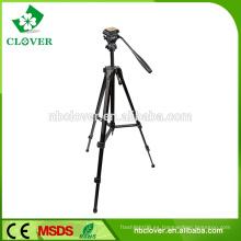 Ningbo fabricante viaje ligero mini trípode de cámara extensible