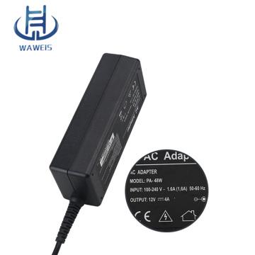 LCDモニタ用12V 4A 48W ACアダプタ