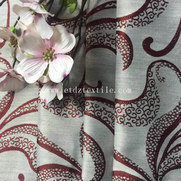 2016 PATTERN POLYESTER CURTAIN FABRIC