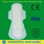 320mm Ultra Thin Sanitary Napkin for Ladies with FDA