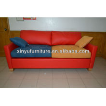Vinyl leather hotel reception lobby sofa for used(XY0182)