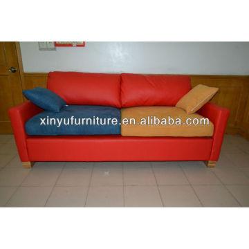 Vinyl leather hotel reception lobby sofa for used(XY0182)