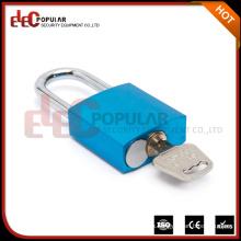 EP-8521A Elecpopular Últimos productos Venta al por mayor 41mm bloqueo de la moda del cuerpo de color cuadrado de aluminio de equipaje de bloqueo EP-8521A