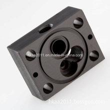 CNC Machining Aluminum Manifold Block, CNC Milling Aluminum Spacer