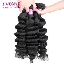 Weave peruano não processado de venda quente do cabelo humano do Virgin