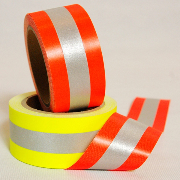 Fire Flame Retardant Fluorecsent Reflective Tape