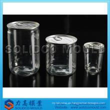 Jarra de plasitc transparente de alta calidad con molde / molde
