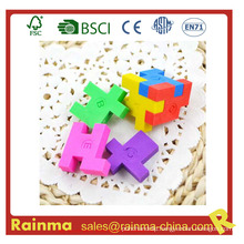 3D Magic Eraser with Puzzle Cube Shape