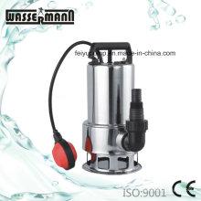 Cuerpo de acero inoxidable drenaje bombas sumergibles para agua sucia