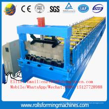 Máquina formadora de rolo de piso metálico