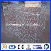 Feuerverzinkter Stahl mit niedrigem Kohlenstoffgehalt Gabion-Box / Gabion-Matratze / Gabion-Matte