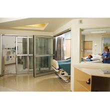 Slimline Automatic Sliding Doors for Hospital Access