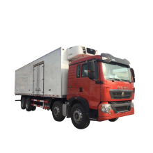 China Sinotruck Howo Refrigerated trucks for perishable food delivery to Africa