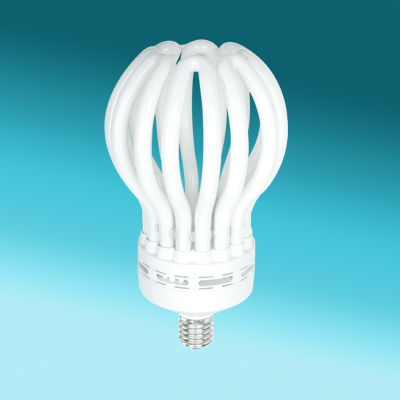 150w 8U Lotus efficient light bulbs / cfl bulbs