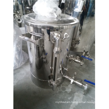 Stainless Steel Mash Tun Brew Kettle with False Bottom