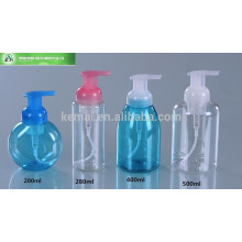 200ml 500ml PET square plastic lotion pump bottle for packaging