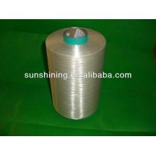 Fil de filament à viscose continu blanc brut 300D / 60F