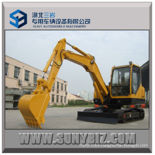 6t Mini Excavator Sw60e with Yanmar Engine