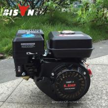 BISON (Китай) Тайчжоу Водяной насос Воздушный компрессор Мини-Тиллер Малый бесшумный бензиновый двигатель