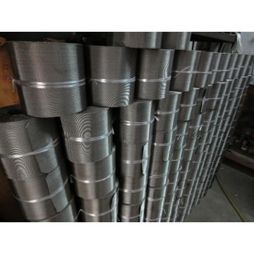 Twill Menenun Stainless Woven Wire Mesh Stock