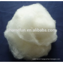 pure raw materials dehaired cashmere fiber