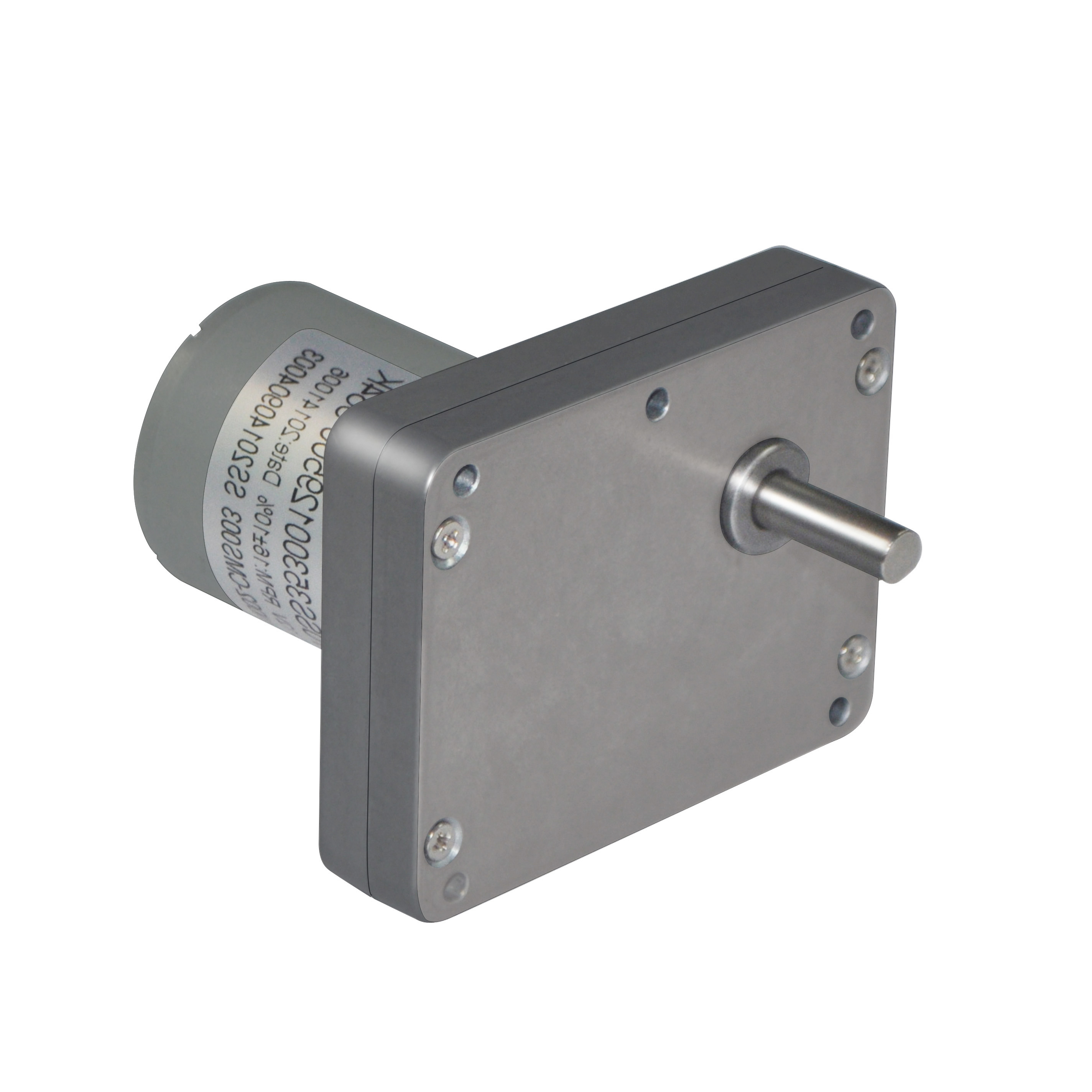 square dc spur gear motor