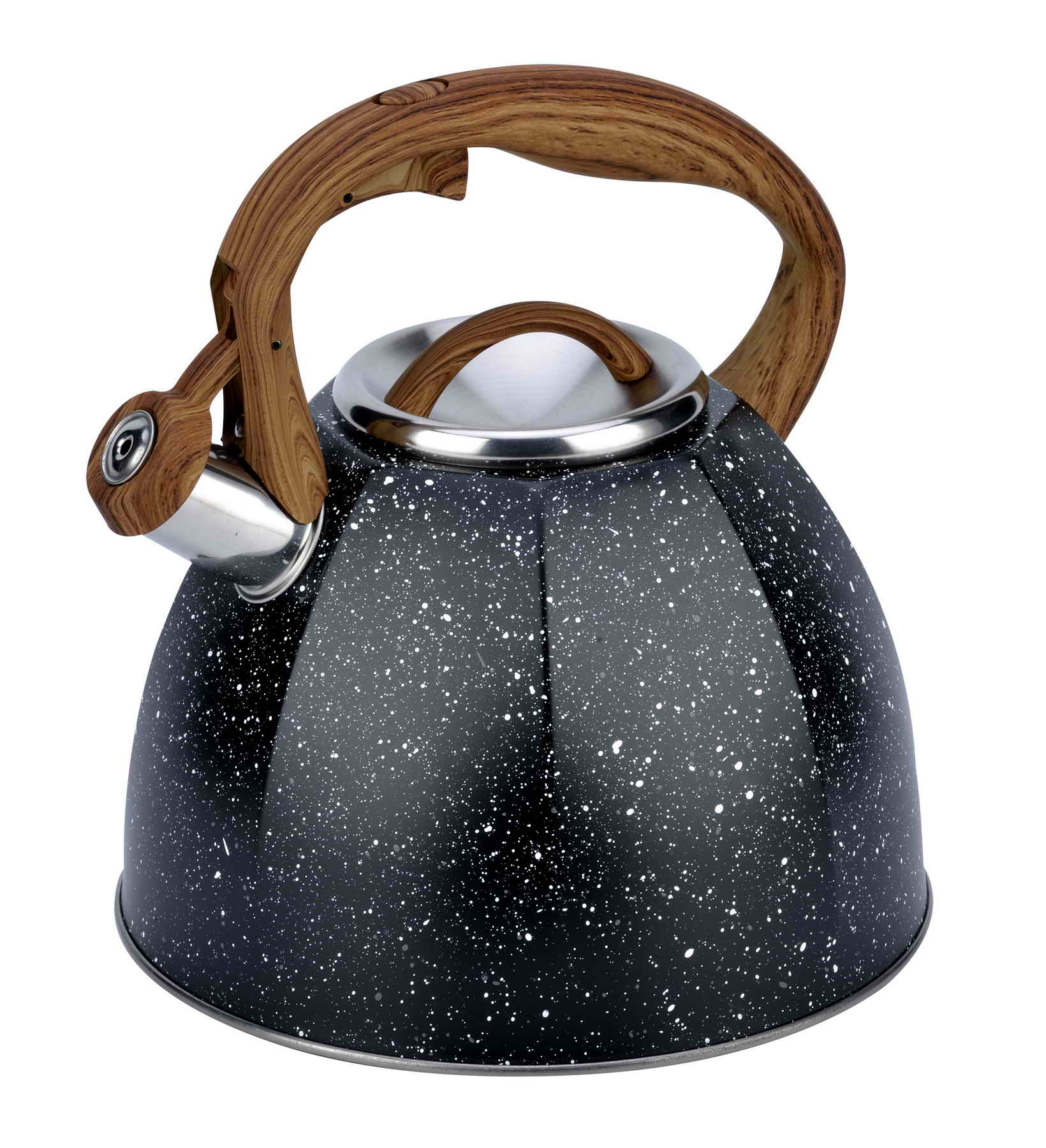 Marble coating kettle