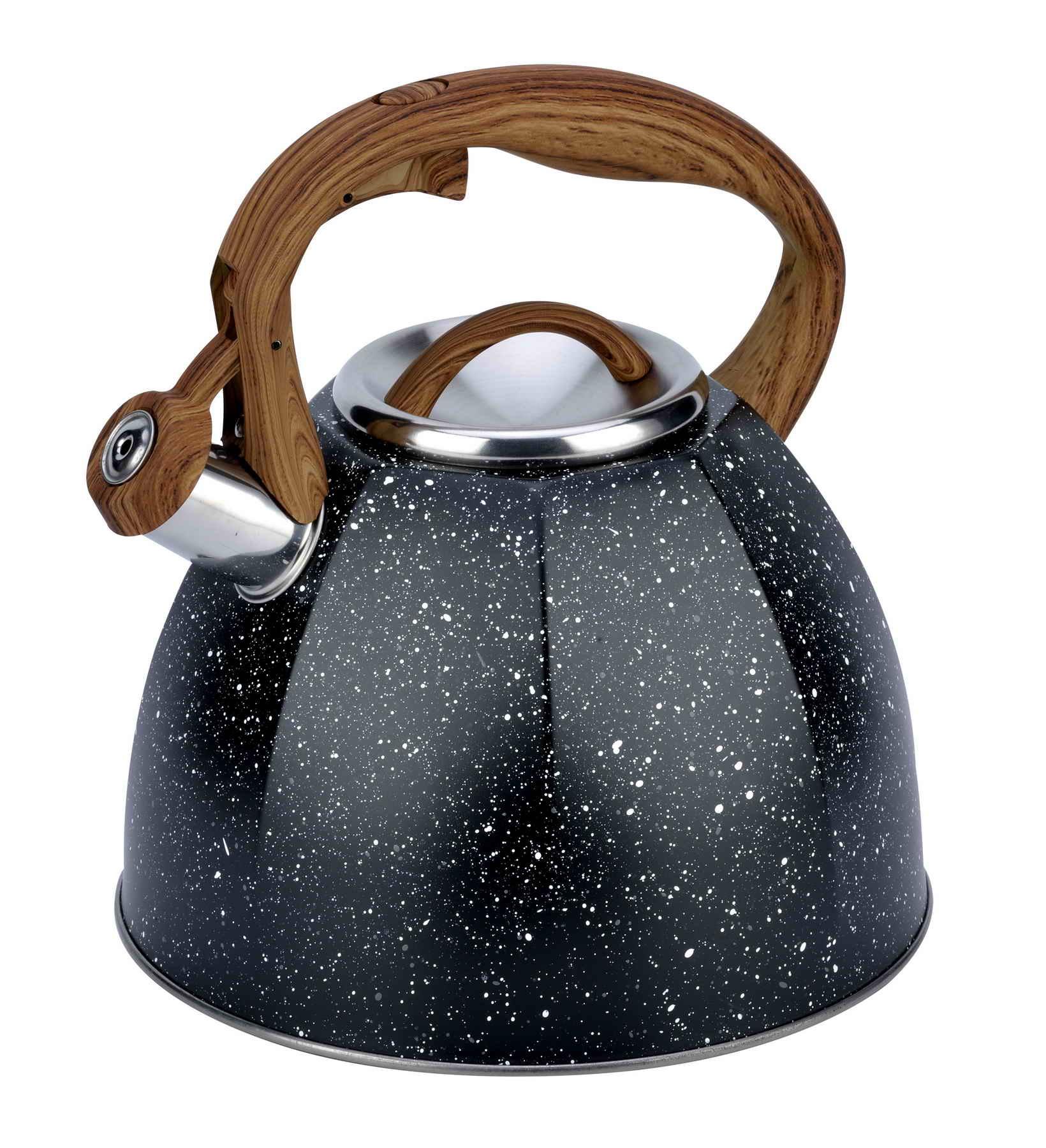 Marble coating kettle