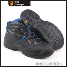 Genuine Leather Ankle Safety Shoe with Steel Toe (SN5314)