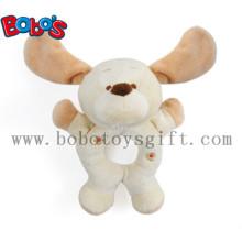 """7 """"Plüsch Lustige Hund Kleinkind Spielzeug Baby Rattle Toy"""