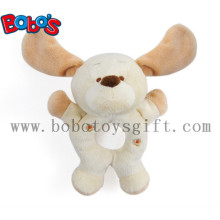 "7"" Plush Funny Dog Infant Toys Baby Rattle Toy"