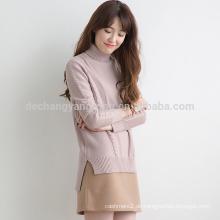 Heißer Verkauf benutzerdefinierte Luxus Kaschmir-Pullover Frauen