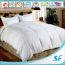 Luxury White Patchwork Queen Size Goose Down Comforter / Duvet / Quilt
