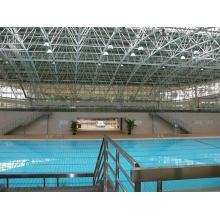 Diseño, espacio interior, marco, piscina, techo