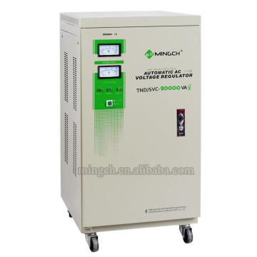 Regulador / estabilizador de voltaje de la CA de Tnd / SVC-20k de la sola fase de Customed de la serie