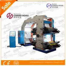 Bridge Type 4 Color Plastic Film Letterpress Printing Machine