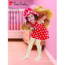 Pierre Cardin Litsa OEM Wholesale Kids Girl Micro Tights Patterned Pantyhose Multi Colors