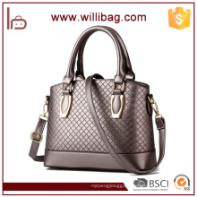 High Quality Leather Shoulder Tote Bag For Office Lady OEM Handbag