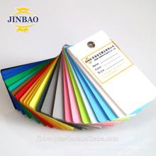 JINBAO 4x6ft 3mm 5mm 0.65 densité pvc contreplaqué pvc feuille de plastique