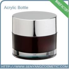 glass jar for face cream cosmetic cream box cream jar mockup