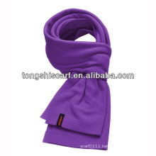 cheap promotional polar fleece scarf