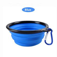 Wholesale Collapsible Dog Pet food Feeding Travel Portable Foldable Dog Bowls