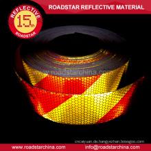 Waben Sie-pvc gedruckte Streifen reflektierende Aufkleber für LKW