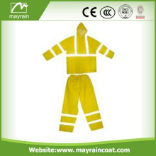 High Visibility Rain Suit For Adult