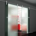Puerta de granero deslizante de cristal moderada exterior tipo europeo