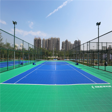 Enlio Outdoor Badminton Sport Golv Modular Court Tiles