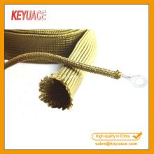 Manga trançada em fibra para cabo de poliamida