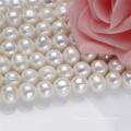 11-12mm Large Hot Sale Natural Real Collier de perles d'eau douce Strand