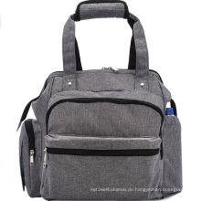 Neue Design trendige große Kapazität Tote Windel Tasche
