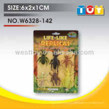 Tpr резиновые животные насекомые ассорти набор для ребенка
